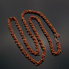 "Copper 2 in 2 Chainmaille 36"" Chain"
